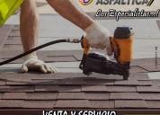 Teja asfaltica suministro e instalacion por m² cof