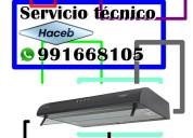 991668105 mantenimiento para campanas haceb