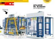 Máquinas para fabricar bloques de concreto