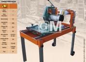 MÁquina cortadora de ladrillos y azulejos
