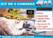 Kit de video vigilancia-camaras de seguridad