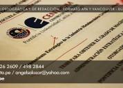 A. correccion de tesis centrum catolica 999134100