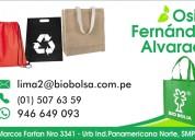 Bolsas ecologicas - publicitarias