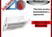 980141881 whirlpool servicio tecnico campanas lima