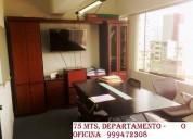 █████ alquilo amplia y bonita  oficina en javier p