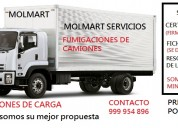 Certificado de fumigacion para camiones, 999954896