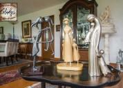 Esculturas de madera cedro lima perú vitrofusión