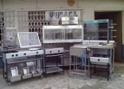 Compro cocinas hornos industriales usados desuso