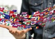 Traductora ingles frances aleman portugues al espanol