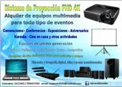 alquiler equipos multimedia