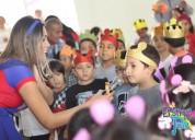 Fiestas infantiles tematicas en trujillo el show de july