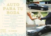 auto para tu boda