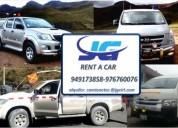 Jg rent a car alquiler de vehiculos camionetas hilux 4x4
