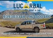 Alquiler de camiones 4tn camionetas 4x4 buses en cerro de pasco