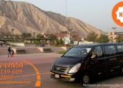Alquiler de van y minivan combis y minibuses para paseos