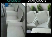 lavado de muebles sillas alfombras