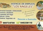 Personal domestico 945 238 110