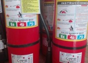 Recarga de extintores de 6 kg 998145263 americanosnacionales
