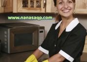 empleadas del hogar y niñeras arequipa