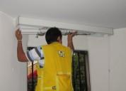 Instalacion lavados reparacion servicios y mantenimientos de todo tipo de cortinas 7951172