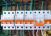 Tecnico electricista cel reparaciones de fallas electricas e instalaciones