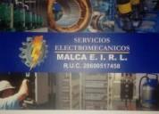 Reparaciones urgentes electricas industriales