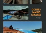 Tecnicos en estructuras metalicas techos metalicos corredizos s 75 00 m2