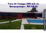 CASA DE CAMPO ALQUILO.