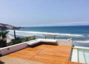 venta de casa de playa en condominio en cerro azul 4 dormitorios