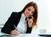 Secretaria asistente gerencia contadora y oadministracion en oficina los olivos en lima