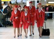 Curso azafatas para madres para ser tripulantes de aviacion en aerolineas en lima