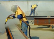 Arenado de acero y granallado en lima