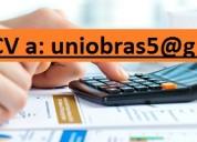 Asistente Contable Para El Area De Administracion Y Finanzas en Lima