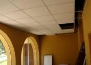 Drywall y techos acusticos en parque industrial de v e s en lima