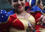 Dama que baile caporales para serie de scifi en internet en lima