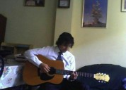 Profesor de guitarra y teclado