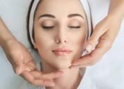 Taller de masajes faciales