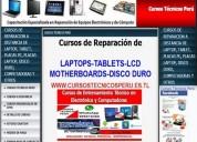 Curso de reparacion de laptops