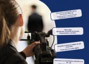 Tenemos cursos audiovisuales para ti