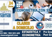 Stata 13 y econometria