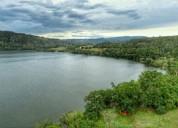 venta de terreno en sauce san martin con vista espectacular a la laguna azul en san martín