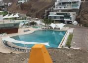 Venta de terreno de playa en club nautico poseidonpucusana en lima