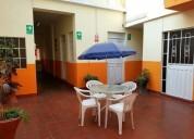 Hotel huaros cochera plaza de a 10 dormitorios