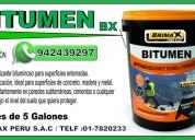 venta de imprimante bitumen, para mantos brimax.