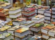 Compro libros en general nuevos o usados pago bien