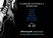 Clases de Bateria, Guitarra, Canto, Bajo, Violín