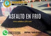 Venta de asfalto mc-30 brea liquida x cilindro