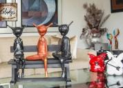 Vitrofusion lima surco esculturas en madera lima