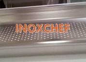 Tapas para depósitos gastronómico en acero inox.