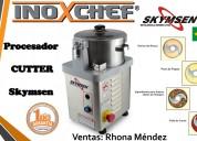 Cutter inox cr-4l-n. skymsen. inoxchef lima